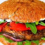 Portobello Mushroom Burgers (in the oven)