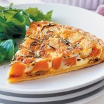 Sweet Potato and Caramelized Onion Quiche