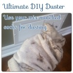 Ultimate DIY Duster and Use For Mismatched Socks