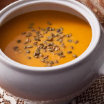 Roasted Butternut Squash Soup (Vegan)