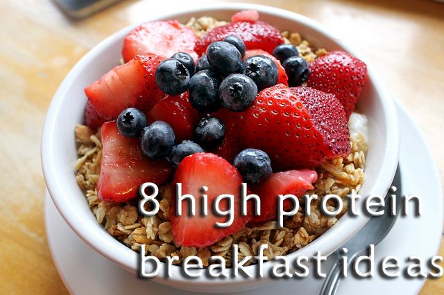 healthy high protein breakfast ideas