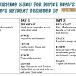 Downloadable PDF with 3 Days of Quick, Healthy and Cost Effective Meals